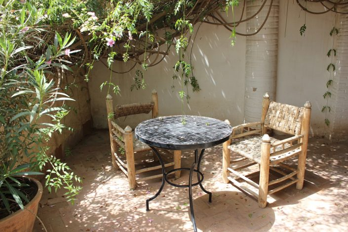 Garden of Dar Louisa, Luxury riad in Morocco
