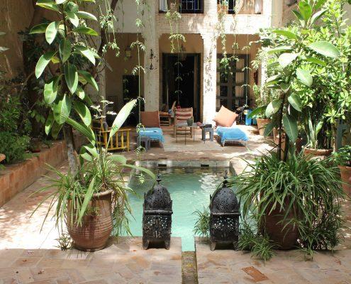 Courtyard & Pool
